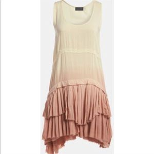 Dresses & Skirts - ASTR 'Ra Ra Ruffle' Dip Dye Tank Dress